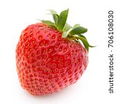 strawberry isolated on white... | Shutterstock . vector #706108030