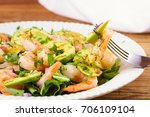 Shrimp Salad With Avocado And...