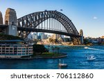 sydney harbor bridge | Shutterstock . vector #706112860