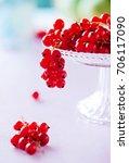 red currants | Shutterstock . vector #706117090