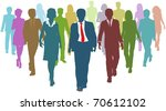 diverse business people human...   Shutterstock . vector #70612102