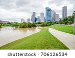 downtown houston at daytime...   Shutterstock . vector #706126534