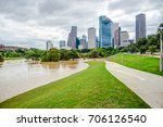 downtown houston at daytime...   Shutterstock . vector #706126540
