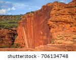 vertical cliffs in kings canyon ...