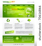 Green Eco Vector Website...
