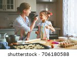 happy family mother and child... | Shutterstock . vector #706180588