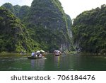 trang an scenic landscape... | Shutterstock . vector #706184476