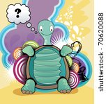 turtle  vector cartoon