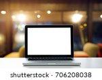 conceptual workspace empty... | Shutterstock . vector #706208038