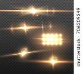 illustration of vector lens... | Shutterstock .eps vector #706209349
