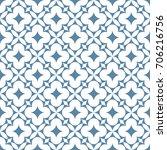 seamless ornamental pattern...   Shutterstock .eps vector #706216756