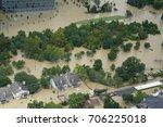 hurricane harvey impacts | Shutterstock . vector #706225018