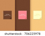 wafer for  ice cream texture... | Shutterstock .eps vector #706225978
