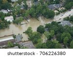 hurricane harvey impacts | Shutterstock . vector #706226380