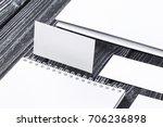 corporate branding mockup...   Shutterstock . vector #706236898