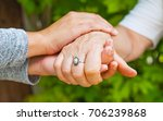 close up young caregiver... | Shutterstock . vector #706239868