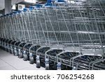 Shopping Carts   Trolley On A...