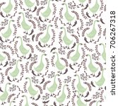 stylish seamless pattern. geese ...   Shutterstock .eps vector #706267318