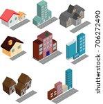 home perspective 3d | Shutterstock .eps vector #706272490