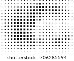 abstract halftone dotted grunge ... | Shutterstock .eps vector #706285594