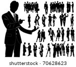 business people | Shutterstock .eps vector #70628623