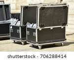 large boxes for transporting... | Shutterstock . vector #706288414