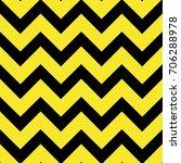 chevron pattern geometric motif ... | Shutterstock .eps vector #706288978