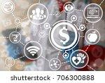 healthcare insurance medical... | Shutterstock . vector #706300888