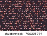 shape of mixed  abstract... | Shutterstock .eps vector #706305799