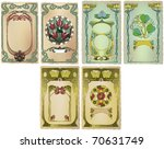 card art nouveau collection ...