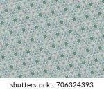 green pattern background graphic | Shutterstock . vector #706324393