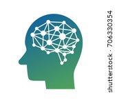 ai  artificial intelligence ... | Shutterstock .eps vector #706330354