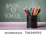back to school concept | Shutterstock . vector #706340593
