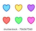 Difference Color Hearts For...