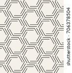 vector seamless pattern. modern ... | Shutterstock .eps vector #706378504
