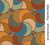 abstract color seamless pattern ... | Shutterstock .eps vector #706441960