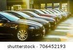 luxury modern cars for sale... | Shutterstock . vector #706452193