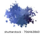 brushed painted abstract...   Shutterstock . vector #706463860