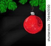 abstract vector illustration of ... | Shutterstock .eps vector #706465030