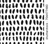 ink seamless abstract pattern.... | Shutterstock .eps vector #706477480
