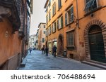 lucca  italy   may 24  2017 ... | Shutterstock . vector #706488694