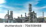 panorama view oil and gas... | Shutterstock . vector #706508488