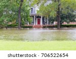 Flooded Houses In Houston Area...
