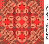 geometrical abstract tiles... | Shutterstock .eps vector #706523968