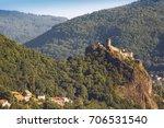 the medieval castle strekov in ... | Shutterstock . vector #706531540