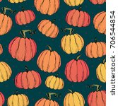 Rustic Fall Seamless Pattern...