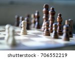 chess board  | Shutterstock . vector #706552219