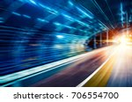 car speed  dynamic background | Shutterstock . vector #706554700