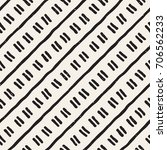 seamless pattern with hand... | Shutterstock .eps vector #706562233