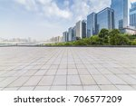 panoramic skyline and buildings ... | Shutterstock . vector #706577209